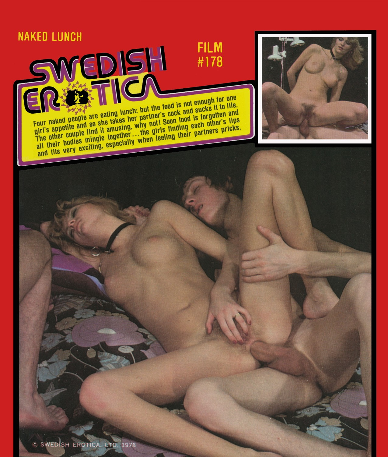 Swedish Erotica 178 - Naked Lunch
