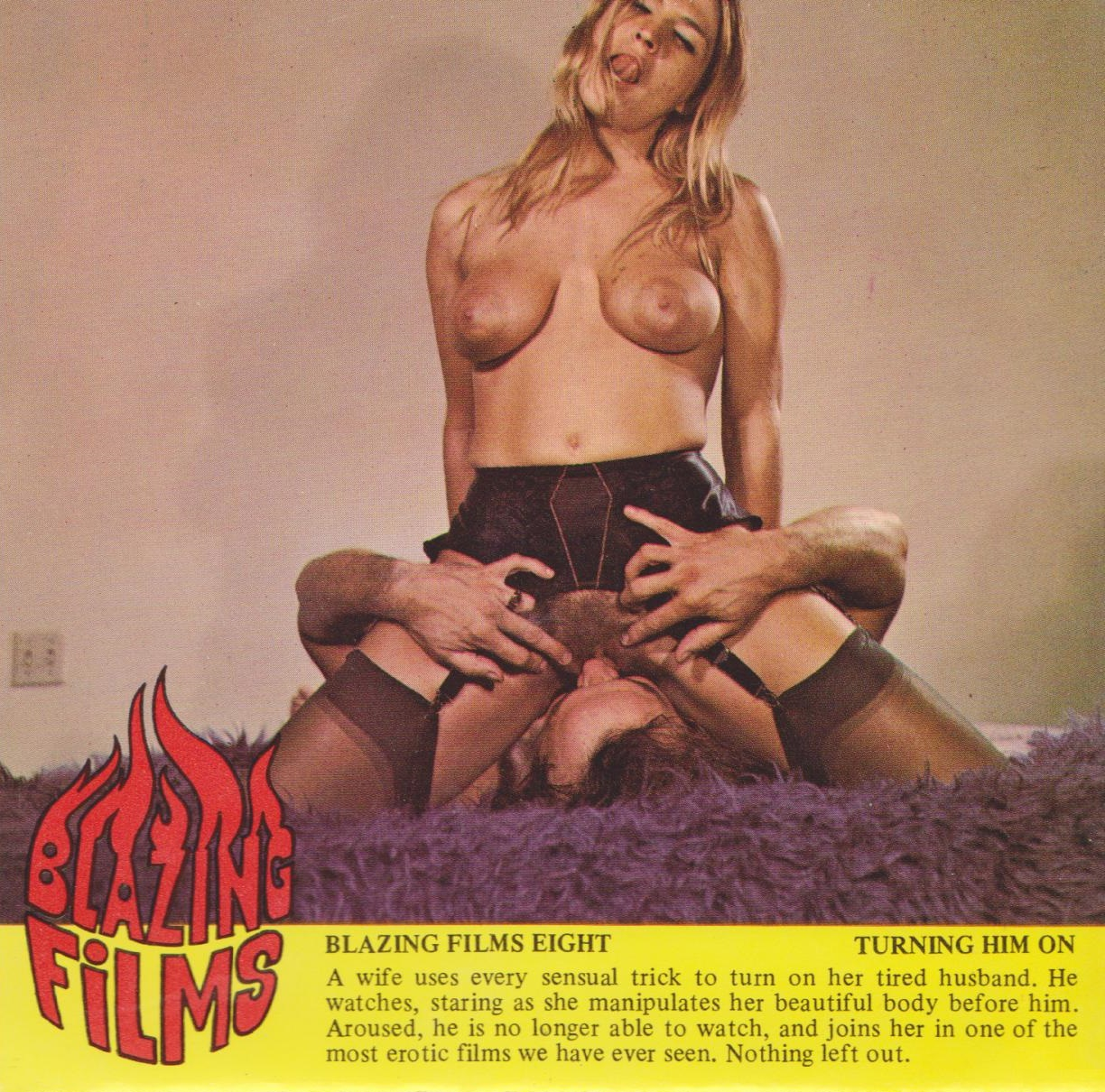 Blazing Films 8 - Turning Him On