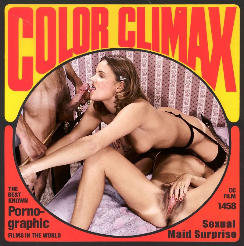 Color Climax Film 1458 - Sexual Maid Surprise