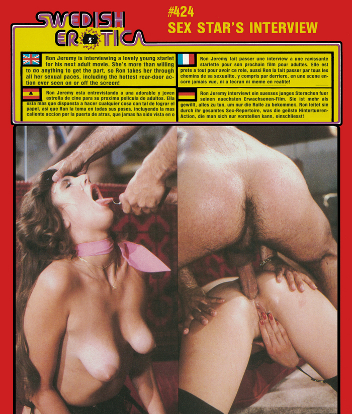 Swedish Erotica 424 - Sex Star Interview