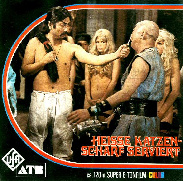 Ufa-ATB - Karate, Kusse, Blonde Katzen Nr.104 - Heisse Katzen, scharf serviert