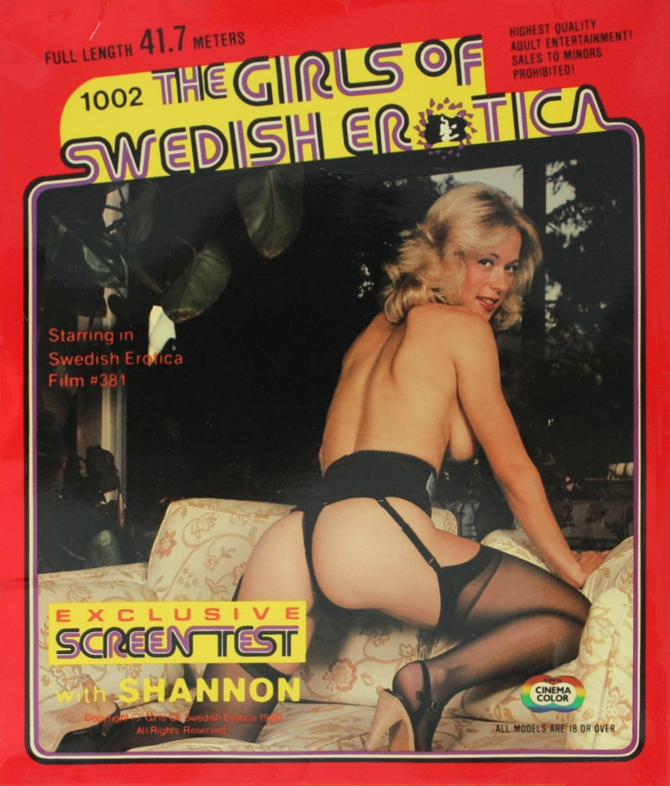 The Girls of Swedish Erotica 1002 - Part Two - Shannon