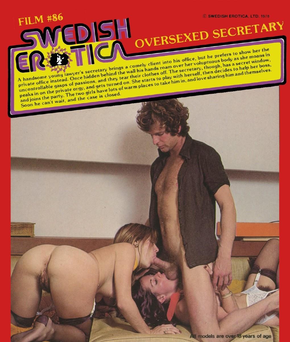 Swedish Erotica 86 - Oversexed Secretary