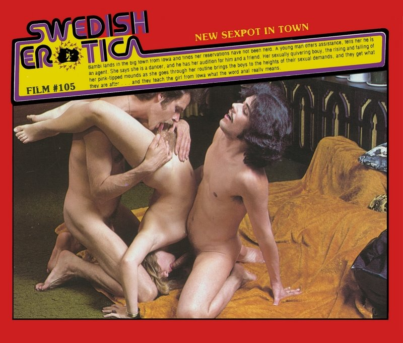 Swedish Erotica 105 - New Sexpot In Town