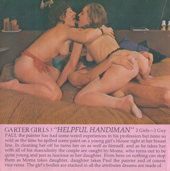 Garter Girls 3 - Helpful Handiman