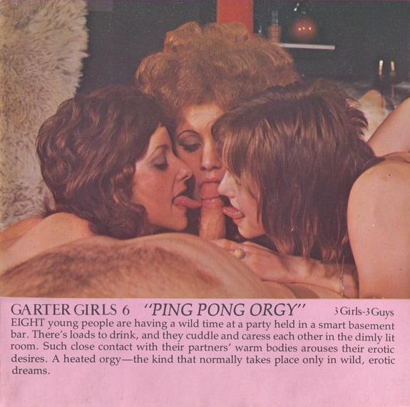 Garter Girls 6 - Ping Pong Orgy