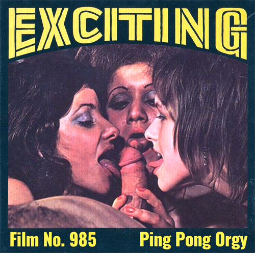 Exciting Film 985 - Ping Pong Orgy