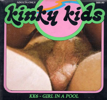 Kinky Kids 6 - Girl In A Pool
