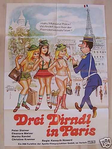 Drei Dirndl in Paris (1981)