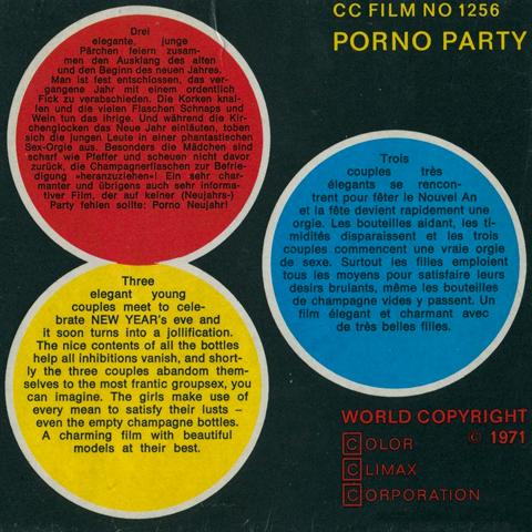 Color Climax Film 1259 - Cunt Marbles » Vintage 8mm Porn