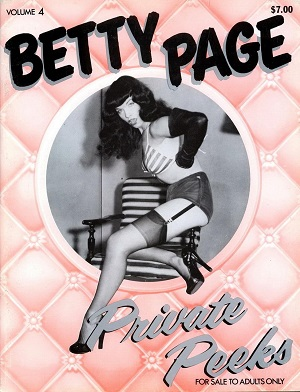 Private Peeks - Betty Page Volume 4