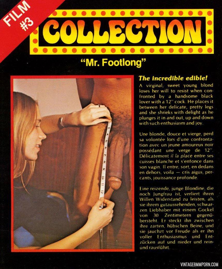 3 Movies Porno collection film 3 - mr. footlong » vintage 8mm porn, 8mm sex