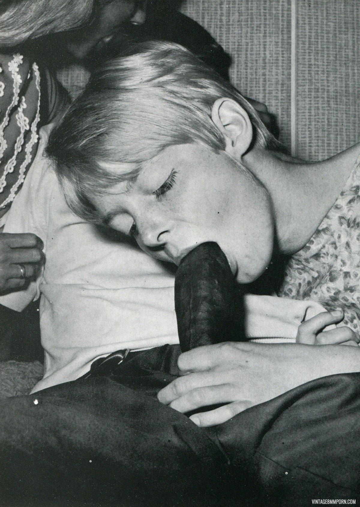Hot Vintage Blowjob