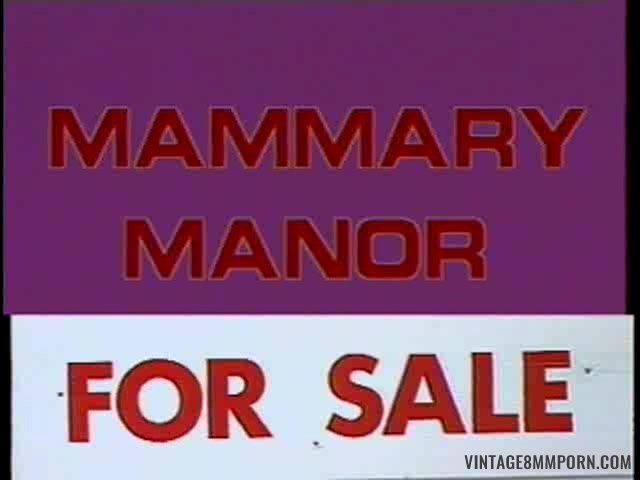 Mammary Manor (1991)