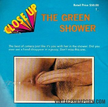 Close Up - The Green Shower