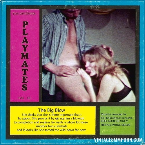 Playmate Film 10 - The Big Blow